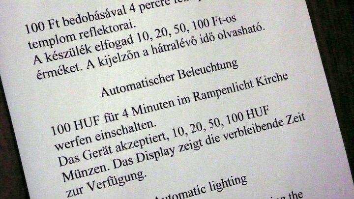 In Ungarn ist der Kirchenwurf preiswert.