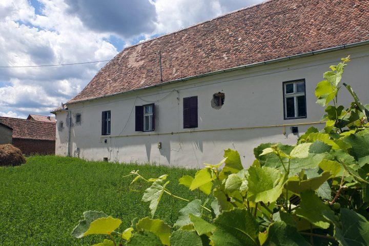 Das Pfarrhaus in Pretai