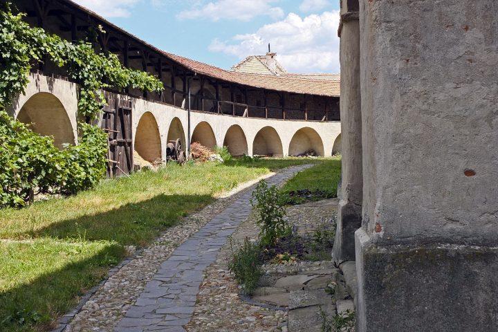 Der Burghof