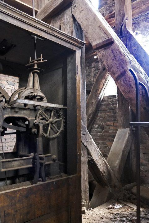 Detail im Burgturm