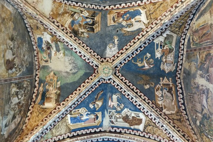 Frühgotische Deckenmalereien aus vorreformatorischer Zeit