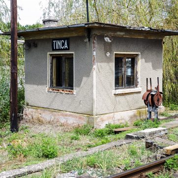 Bahnübergang Tinca