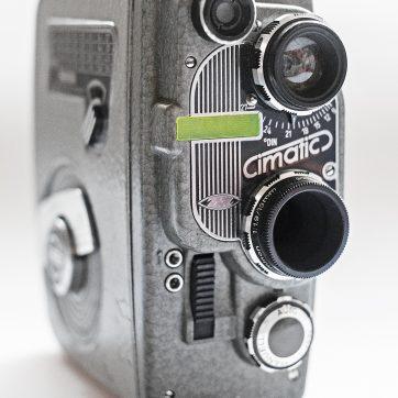 Die Cimatic Doppel-8 Kamera
