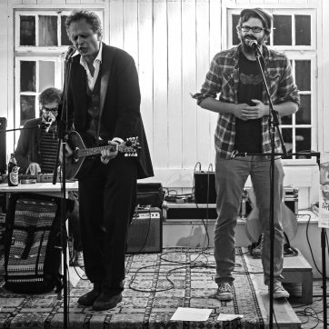 Maekkelephantband oder 3/8 Folk´s Worst Nightmare - Ben Rushian, Martti Mäkkelä, The Black Elephant Band