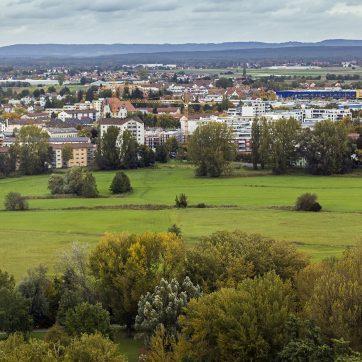 Über Stadtpark und Pegnitz nach Norden