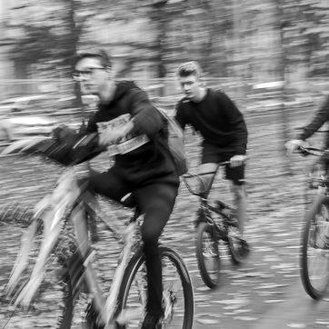 Radfahrer, Hornschuchpromenade