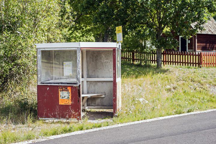 Bushaltestelle in Bötterum