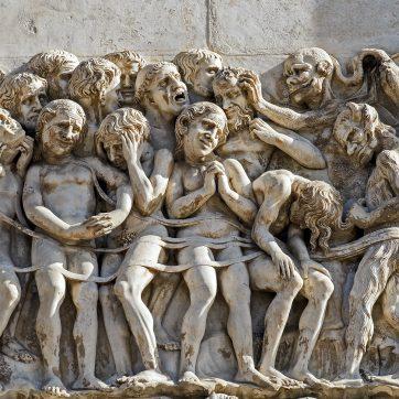 Dom von Orvieto - Wandreliefs an der Außenwand - unbekannter Künstler um 1320