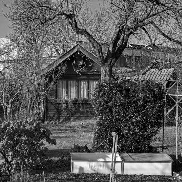 Kleingarten hinter Spielcasino