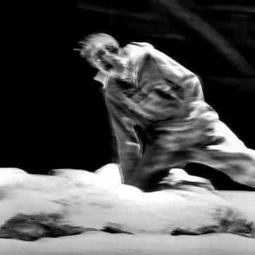 """Richard Kindley (Steuermann) in """"Der fliegende Holländer"""" (Richard Wagner), Theaterfotografie von 1996"""