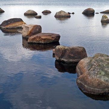Rast am See im Schweden