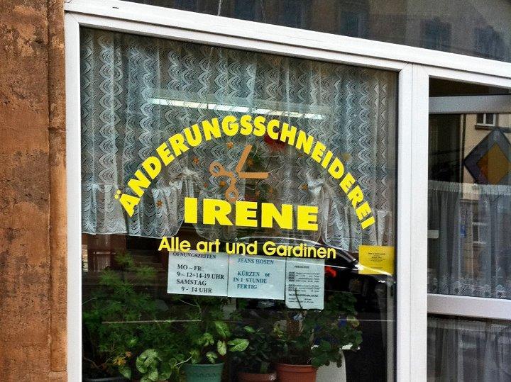 Irene Alle art und Gardinen