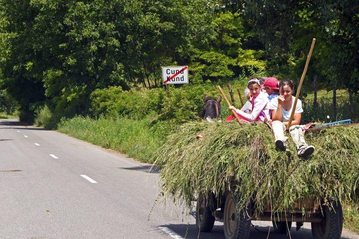 Wir verlassen Reußdorf nach einer Woche Richtung Reichesdorf (wo wir inzwischen schöne Sommerurlaube verbrachten).
