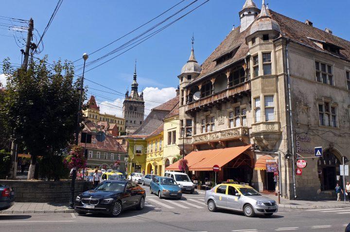In Schäßburg / Sighisoara, einer quirligen kleinen Touristenmetropole, leben noch einige hundert Deutsche.