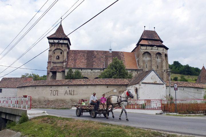 Die Kirchenburg in Wurmloch / Valea Viilor