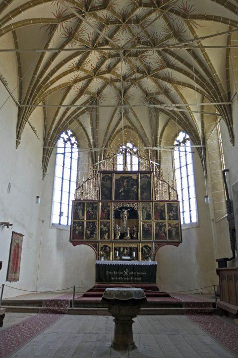 300 Jahre lang war Birthälm Sitz der sächsischen Bischöfe.