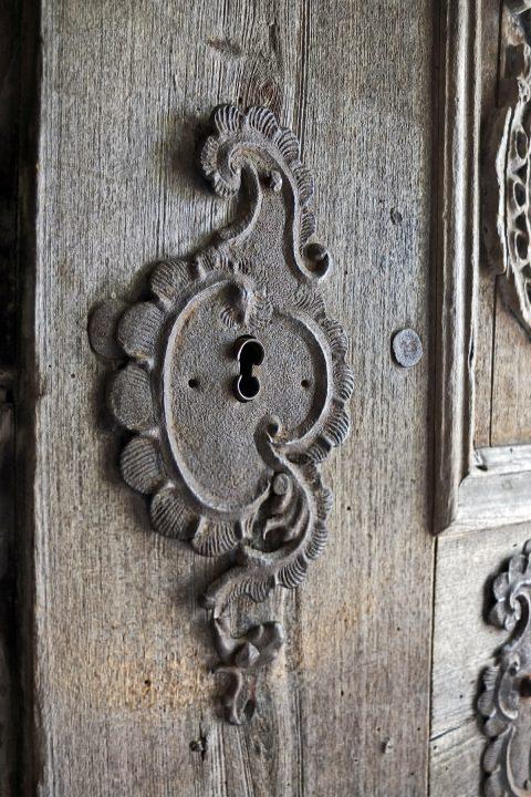 Detail in der Kirche