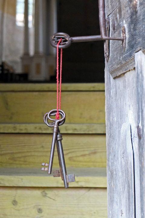 """""""Der Schlüssel steckt"""",..."""