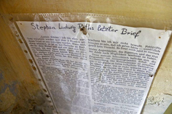 Stephan Ludwig Roth war hier Pfarrer.