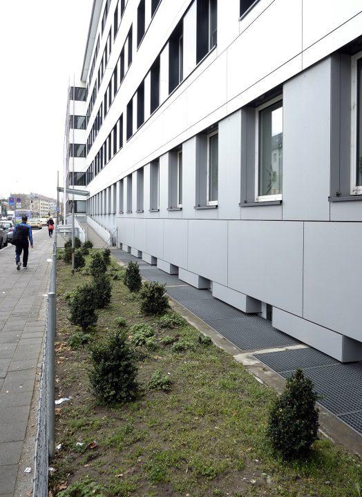 Ämtergebäude in der Fürther Südstadt