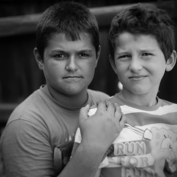 Christian und Alexandru, Freunde