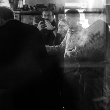 Mäkkelä, Gäste, Geoff Berner, Café Gramsci, Dachau, 10.12.2015
