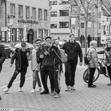 Fürther Jungs, Königstraße, 07.04.2017
