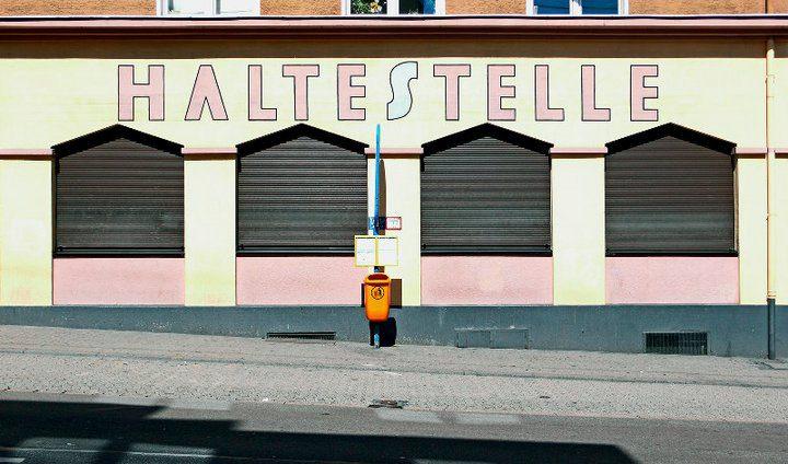 27.10.2010, Saarbrücken, Haltestelle