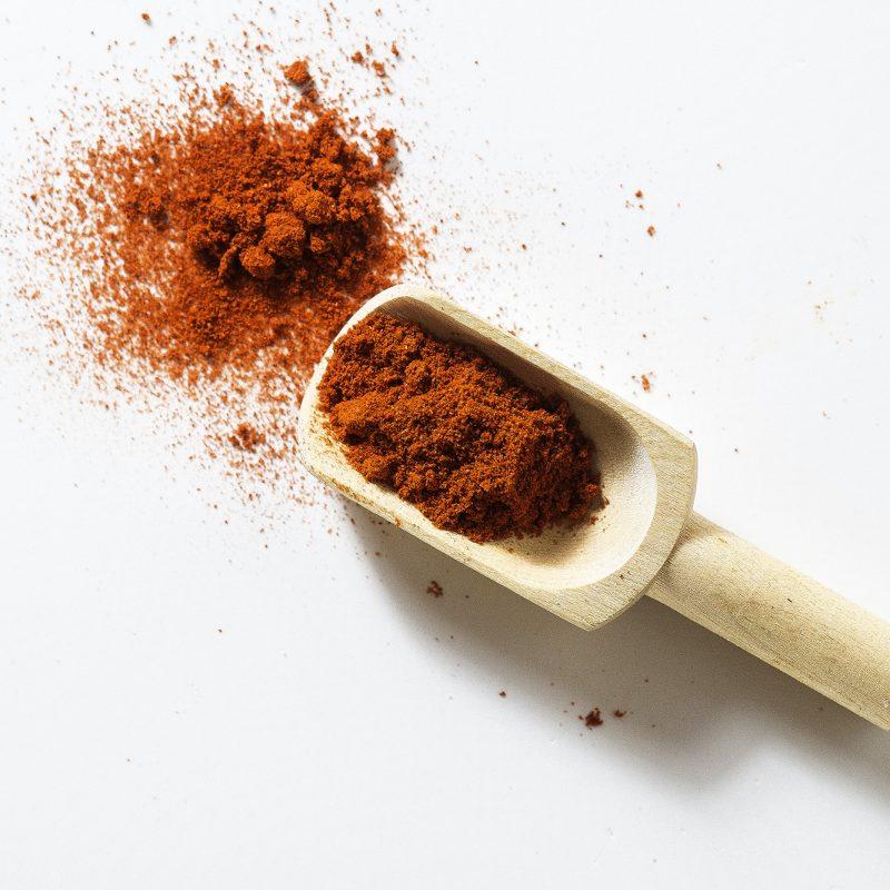 Paprika für evangelischen Speck