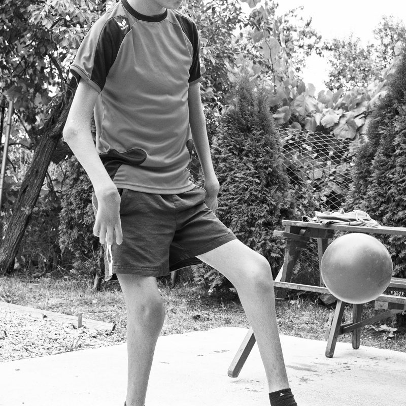 Viorel spielt Fußball