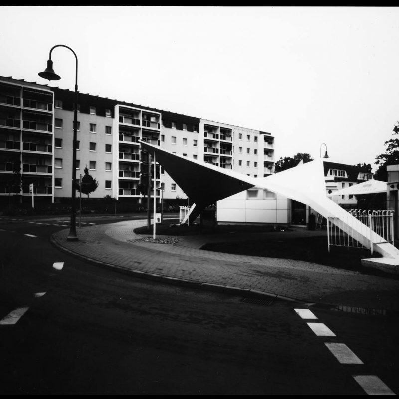 Bushaltestelle von Ulrich Müther in Binz
