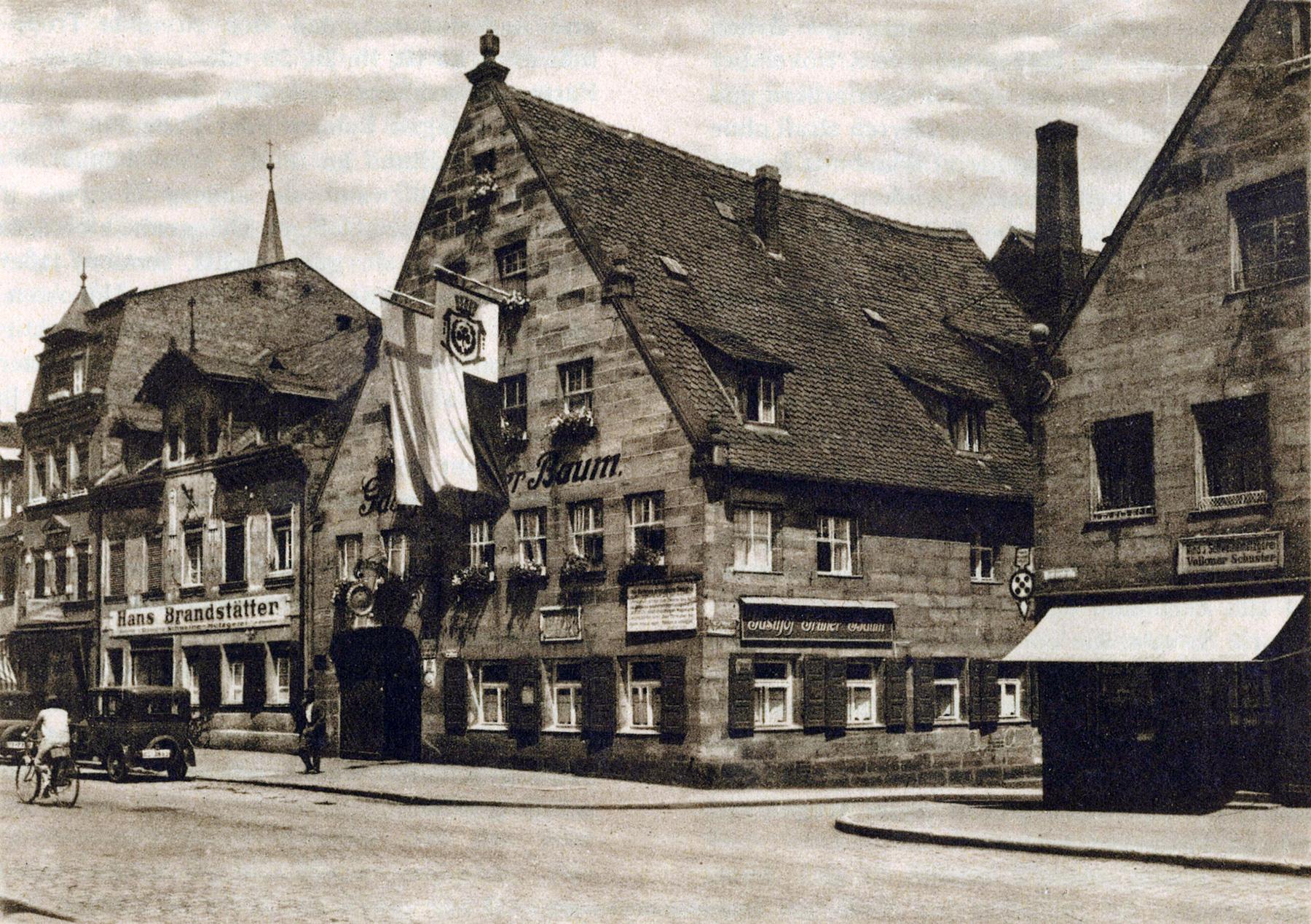 Aufnahme von Karl Stöhr, 1932, Archiv FürthWiki e.V.