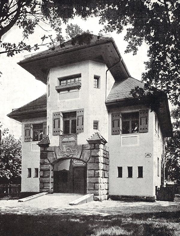 Aufnahme von Kriegbaum, 1907 für das Buch, bzw. die Bildermappe