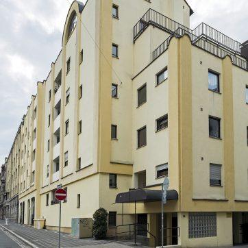 Postmoderne (?) Lange Straße, Ecke Meckstraße