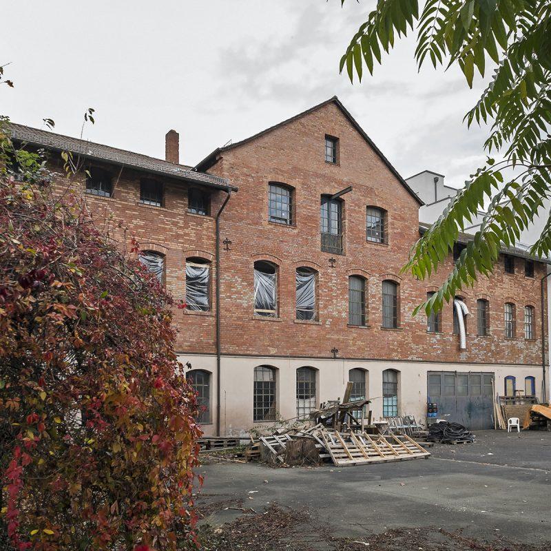 Fabrikgebäude an der Dr.-Mack-Straße