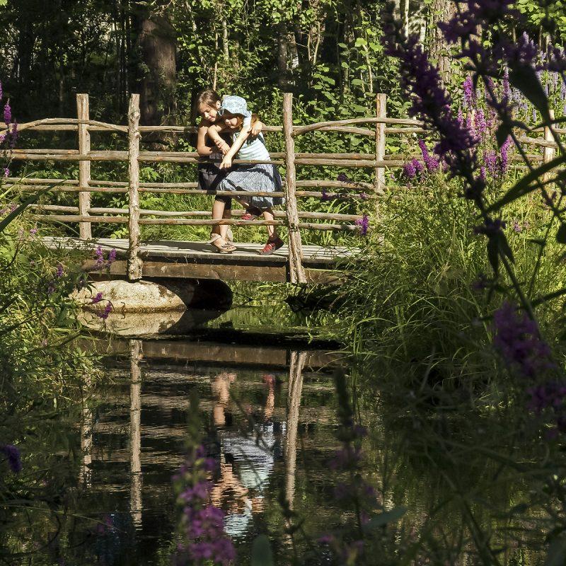 Vimmerby, Astrid Lindgrens värld, Brücke
