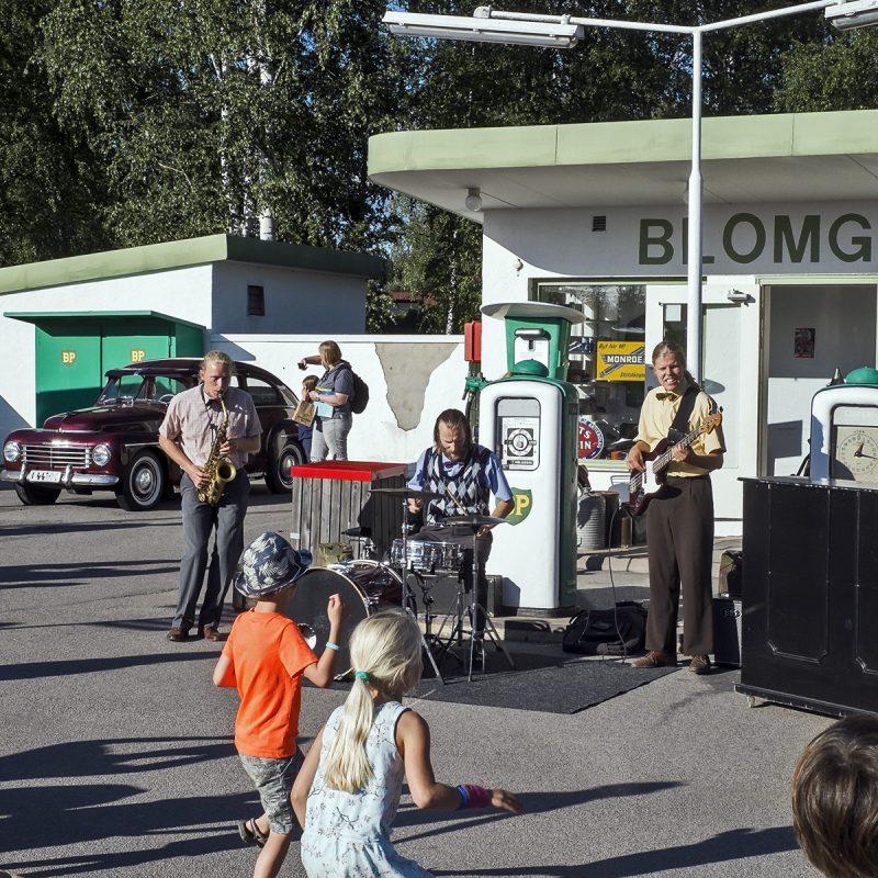 Vimmerby, Astrid Lindgrens värld, Band, Tankstelle