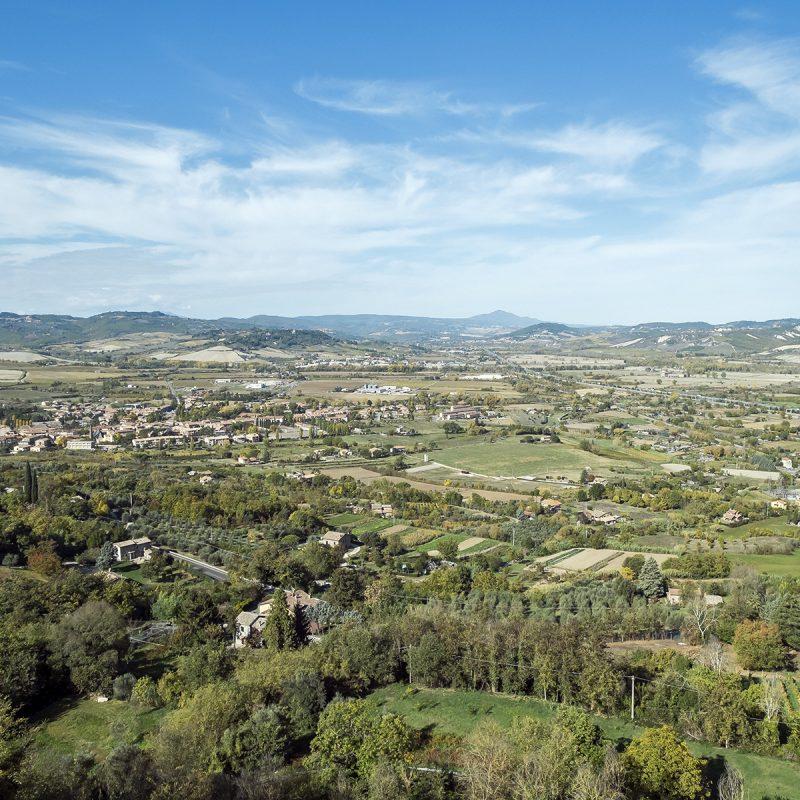 Blick von Orvieto nach Norden