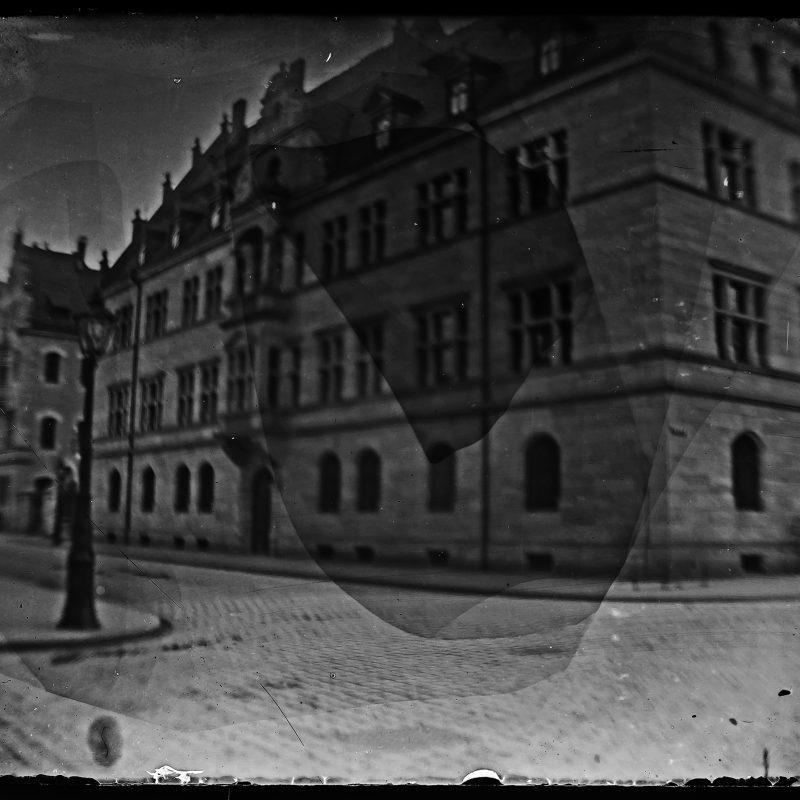 """Wohnhaus (""""Unser Haus"""") der Familie, Nürnberg"""