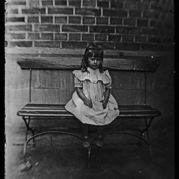 Mädchen, Nürnberg, 19.August 1900
