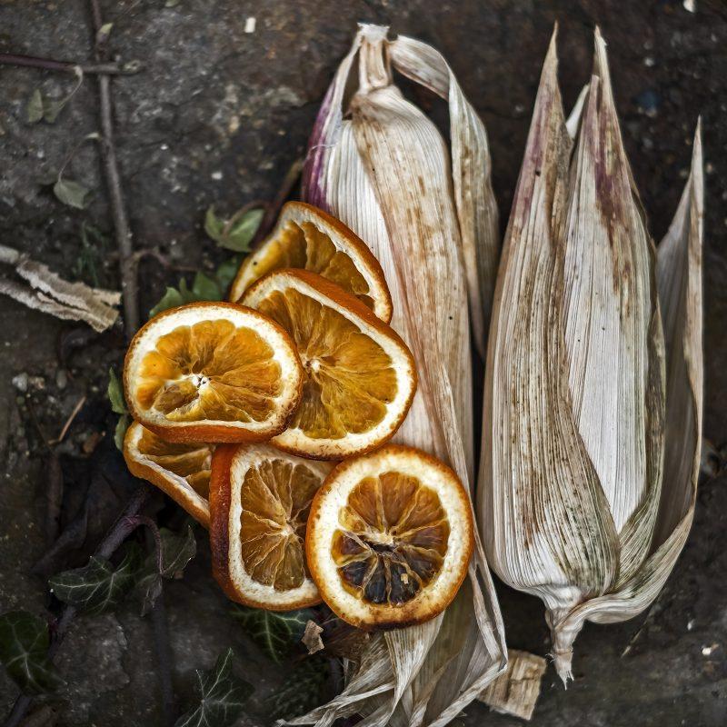 Orangenmais