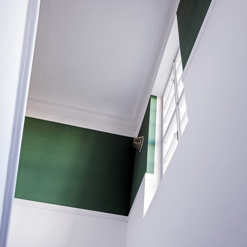 Treppenaufgang (nach Goethes Haus in Weimar)
