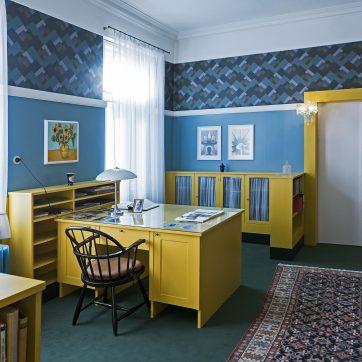 Bibliothek und Arbeitszimmer