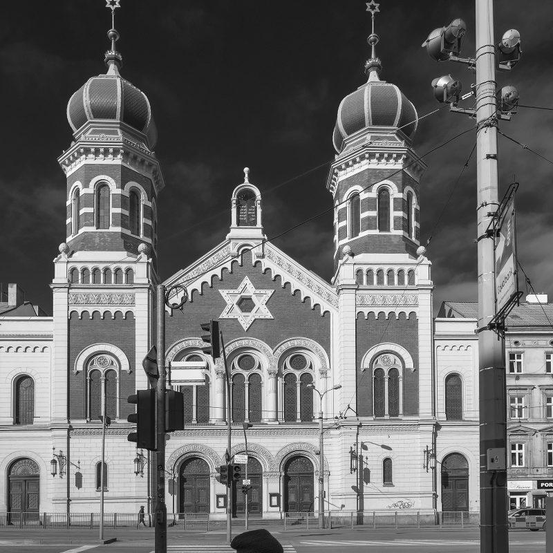 Synagoge Pilsen (Europas zweitgrößte und die drittgrößte der Welt)