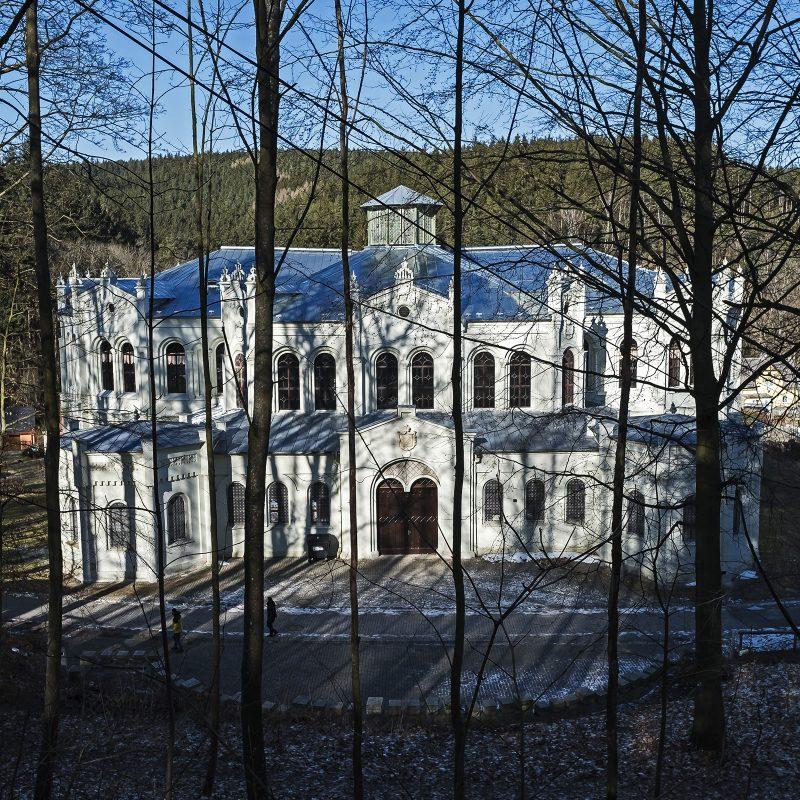 Die Reitschule in Světce / Heiligen (Tachov)
