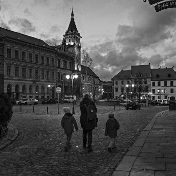 Prachatice, Hauptplatz