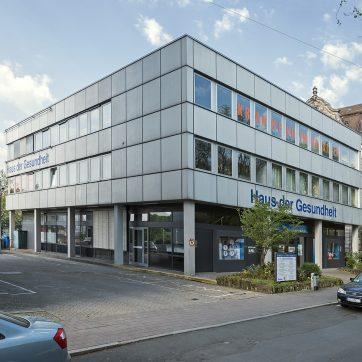 Haus der Gesundheit an der Königswarterstraße 80 in Fürth, 2018