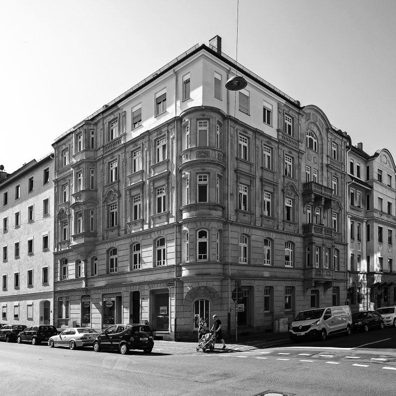 Amalienstraße Ecke Ludwigstraße