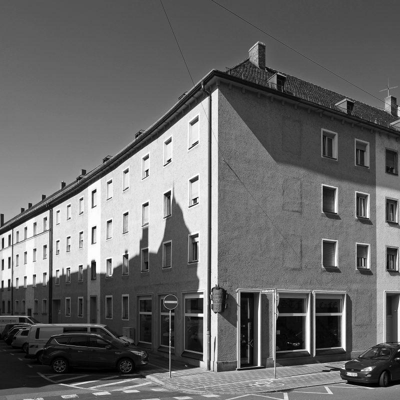Amalienstraße Ecke Schreiberstraße