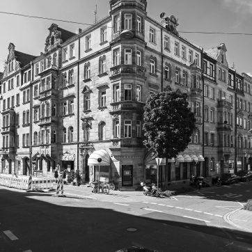 Amalienstraße Ecke Simonstraße